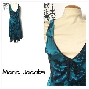 Marc Jacobs 100%Silk Floral dress Sz 10